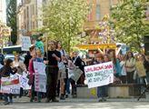 Doba ledová v Evropě, moře stoupne o 65 metrů, děsil ekolog děti na demonstraci za klima