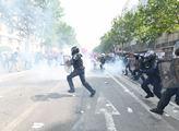 Paříž ve válce: Opravdu drsný První máj