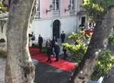 Preziden Zeman na státní návštěvě Portugalska
