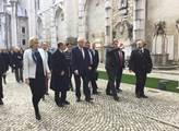 Prezident Zeman míří v Portugalsku na prohlídku zř...