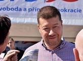 Český Jarmark SPD v Hradci Králové. Tomio Okamura ...