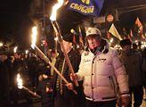 Slavnostní průvod v Kyjevě ke 110. výročí narození...