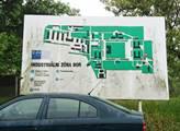 Plánek areálu ve Vysočanech