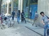 V centru města Chemnitz