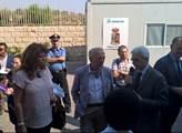 Europoslanec Tomáš Zdechovský navštívil uprchlický...