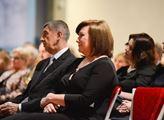Prezident Miloš Zeman oslavil s příznivci sedm let...