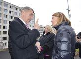 Premiér Babiš přijel 30. ledna 2020 do Janova už p...