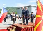 Prezident Miloš Zeman na státní návštěvě Makedonie