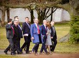 Prezident Miloš Zeman pozval členy vlády na společ...