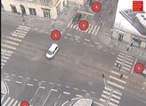 Šest fotek pražských dopravních tepen z pondělí… a Evropa zmlka