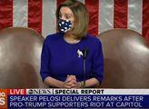 Demokratická předsedkyně Sněmovny reprezentantů Nancy Pelosiová