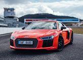 Závodní okruh mosteckého autodromu bude patřit vozům Audi