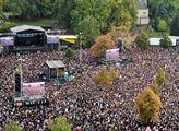 Je nás víc- koncert v Chemnitz proti rasismu