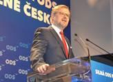 Předsedou ODS se stal opět na 28. kongresu v Ostra...