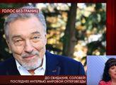 VIDEO Sbohem, Slavíku! Slzy pro Karla Gotta v ruské televizi