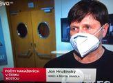 TV Nova, Televizní noviny. Vybafli Ledecký, Hrušínský, Adamovská. Už je zle