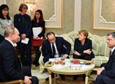 Putin s Merkelovou v Moskvě připustili: Naše vztahy jsou plné problémů