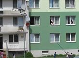 Chanov - panelové domy zrekonstruované z dotací