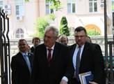 Miloš Zeman na státní návštěvě Rumunska