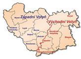 Mapka Volyně