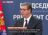 Čínský bratr pomůže! Srbský prezident brutálně ke koronaviru: Pohádky z EU...! Z těchto slov kavárna shoří