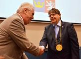 Prezident Zeman a hejtman Lubomír Franc