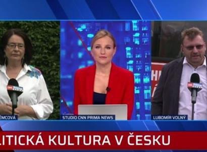 """""""Zděšená teta."""" Němcová a Volný na Primě: Obětí nejen senátorka"""