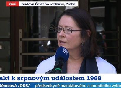 Němcová s hněvem v očích: Odporné, velezrada! U rozhlasu naložila i Babišovi. Ta hanba...