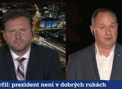 """""""To nemůžete myslet vážně!"""" Vondráček dostal v ČT otázku na Zemana, která ho šokovala"""