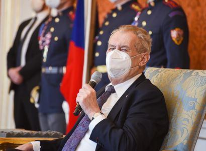 Prezident republiky podepsal čtyři zákony