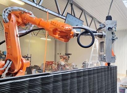 V Česku vzniká největší farma na 3D tisk betonu. Chce nabídnout rychlé a dostupné bydlení