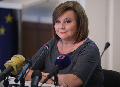 Ministryně Schillerová a prezident Zeman se shodli na nutnosti maximálně investovat