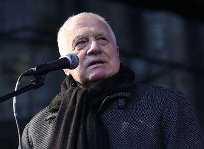 VIDEO Václave, měl by ses vrátit do politiky. Takto Miloš Zeman popřál Václavu Klausovi