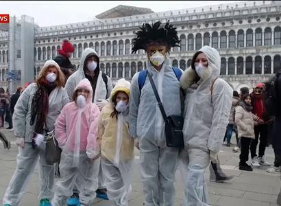 Koronavirus uvěznil v Benátkách i hollywoodskou hvězdu. Zprávy z Itálie