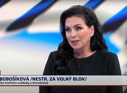 Paní redaktorko, to není pravda... Janu Bobošíkovou pozvali do studia a moderátorka hned narazila. Vážná chyba