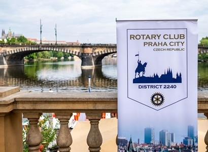 Rotary klub Praha City: Dar Praze a jejím návštěvníkům