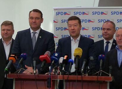 """Trestní stíhání za schvalování atentátu? To bylo za protektorátu... Lůza rabuje a ČT to podporuje. Nářez od """"poldy"""" kandidujícího na hejtmana za SPD"""