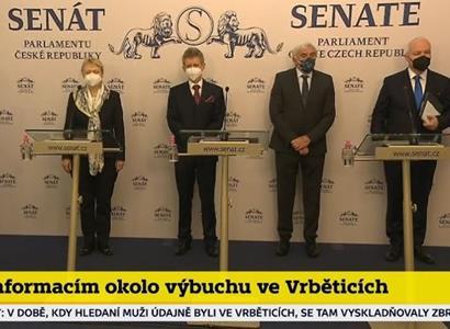 Vedení Senátu vystoupilo v černém: Historicky vážná chvíle. Je potřeba společný postup EU a NATO proti ruskému vlivu