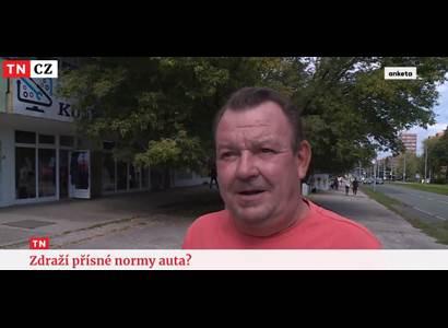 """""""Nebudou diktovat!"""" 19.30, Televizní noviny. Velký úder EU. Lid na Nově"""