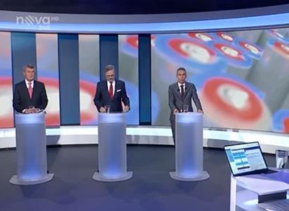 """""""Nezaslouží si vyhrát!"""" Pečinka se díval na superdebatu na Nově. Co to opozice prováděla?"""