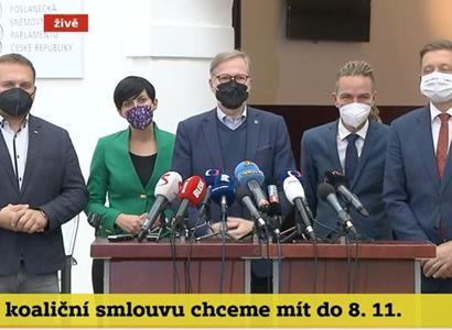 Já jsem žena! Pekarová se ohradila proti novináři. Fiala překvapil Zemana