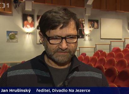 """""""Mám viset. 25 let nebyly anonymy, až teď."""" A pak Hrušínský probral dotace"""
