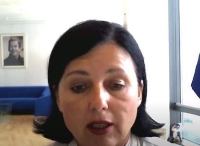 Věra Jourová: komisařka pro cenzuru