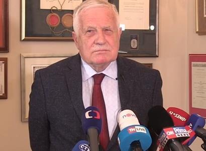 Václav Klaus zažaloval Ministerstvo zdravotnictví