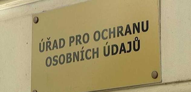 ÚOOÚ: Ministerstvo vnitra poskytlo rozhlasu a televizi neoprávněně přístup do evidence obyvatel