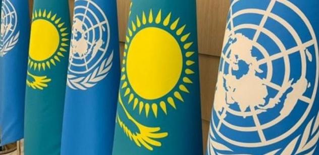 Prezident Tokajev: Kazachstán potvrzuje pevné odhodlání plnit misi a Chartu OSN