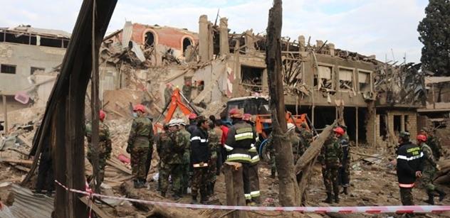 Válka o Náhorní Karabach: Po arménském útoku na město Barda 21 mrtvých, 60 zraněných