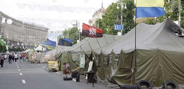 Bude další Majdan, zprovozním kulomet a jdu! Tak mluví člen Pravého sektoru
