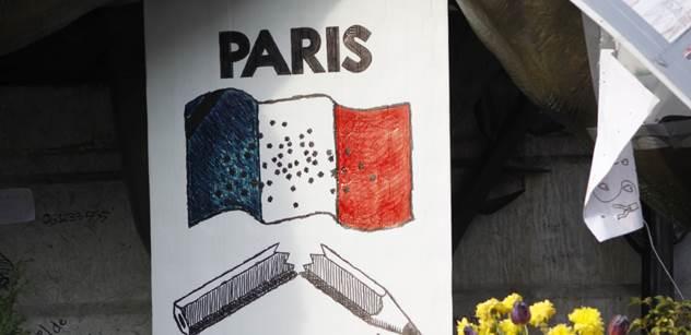 Špína a uprchlíci. Jako konec světa. Nové VIDEO z Paříže