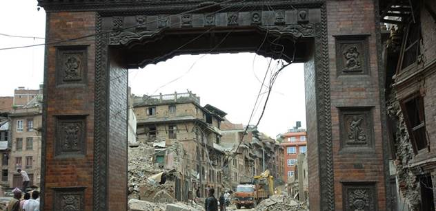 Jako když King Kong hrozí prstem, vzpomíná na zemětřesení v Nepálu cestovatelka Tkáčiková